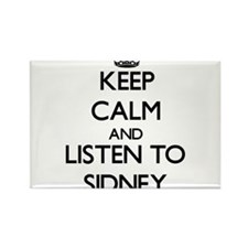 Keep Calm and Listen to Sidney Magnets