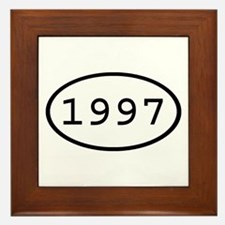 1997 Oval Framed Tile