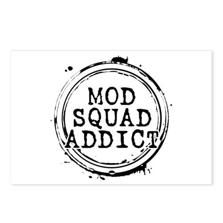Mod Squad Addict Postcards (Package of 8)