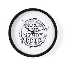 Mork and Mindy Addict Wall Clock