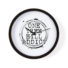 One Tree Hill Addict Wall Clock