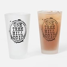 One Tree Hill Addict Drinking Glass