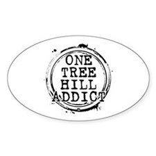 One Tree Hill Addict Oval Decal