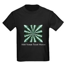 Medieval Celtic Knot Green Perso T