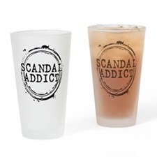 Scandal Addict Drinking Glass