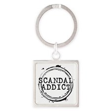 Scandal Addict Square Keychain