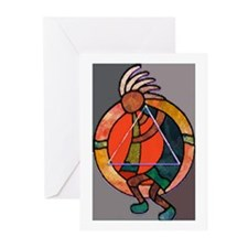 Kokopeli JOY Greeting Cards (Pk of 10)