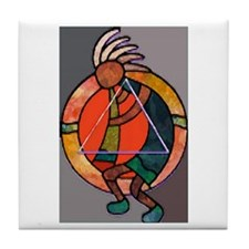 Kokopeli JOY Tile Coaster