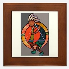 Kokopeli JOY Framed Tile