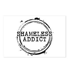 Shameless Addict Postcards (Package of 8)