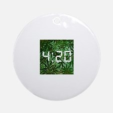 420 goody bag Ornament (Round)
