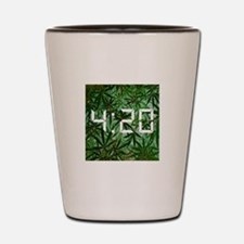 420 goody bag Shot Glass