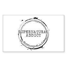 Supernatural Addict Rectangle Decal