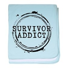 Survivor Addict Infant Blanket