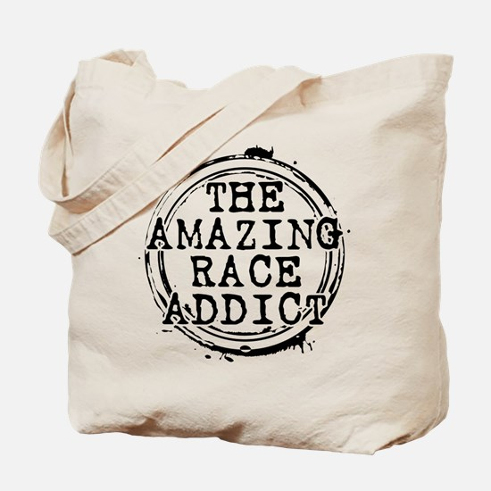The Amazing Race Addict Tote Bag