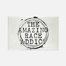 The Amazing Race Addict Rectangle Magnet