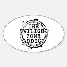 The Twilight Zone Addict Oval Decal