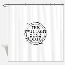 The Twilight Zone Addict Shower Curtain