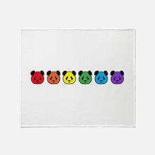 all bear inline 02 Throw Blanket