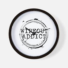 Wipeout Addict Wall Clock