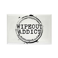 Wipeout Addict Rectangle Magnet