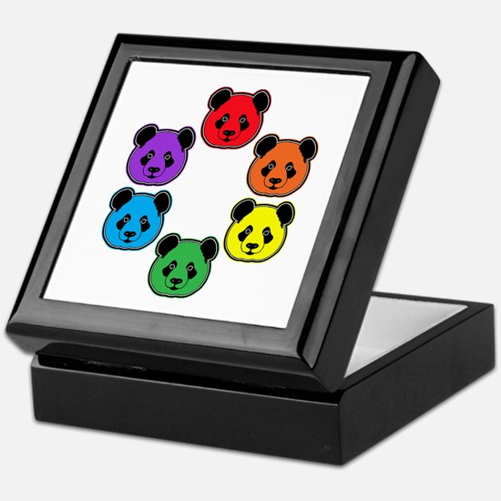 all bear hexagon Keepsake Box