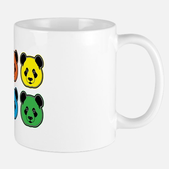 All Bear 2 Rows Mug Mugs