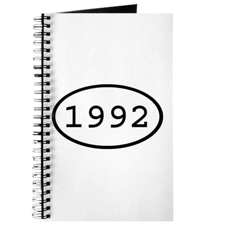 1992 Oval Journal