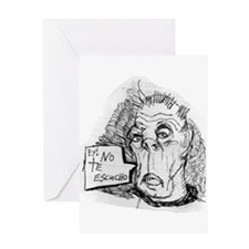 DEAF GRANDPA Greeting Card