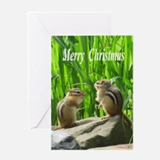 Chipmunks Greeting Cards