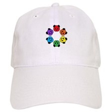 all bear hexagon Baseball Cap