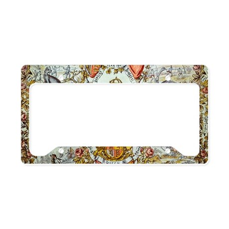 Queen Victoria Jubilee License Plate Holder