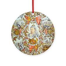 Queen Victoria Jubilee Ornament (Round)
