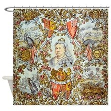 Queen Victoria Jubilee Shower Curtain