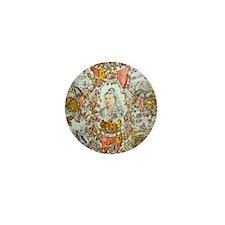 Queen Victoria Jubilee Mini Button