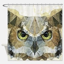 Cool Owls Shower Curtain