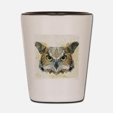 Unique Owl Shot Glass