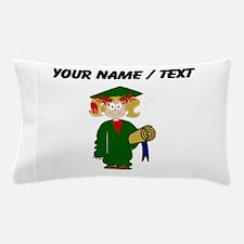Custom Grammar School Graduate Pillow Case