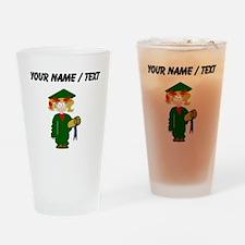 Custom Grammar School Graduate Drinking Glass