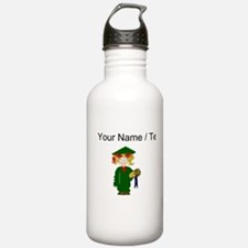 Custom Grammar School Graduate Water Bottle