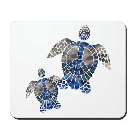 Peace Turtles Mousepad