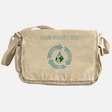 Custom Recycle Water Messenger Bag