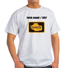Custom Check Engine T-Shirt