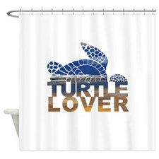 Turtle lover-1 Shower Curtain