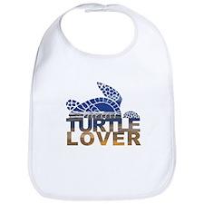 Turtle lover-1 Bib
