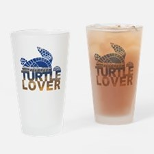 Turtle lover-1 Drinking Glass