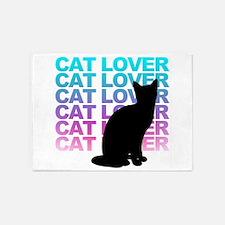 cat lover 5'x7'Area Rug