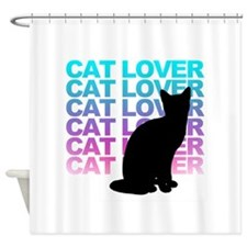 cat lover Shower Curtain