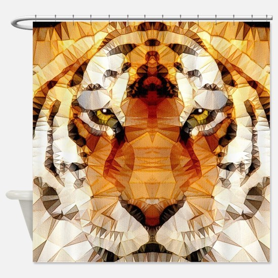 Funny African animals Shower Curtain