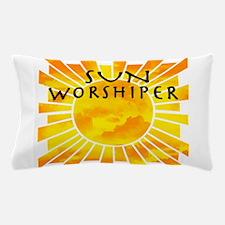 sun worship.png Pillow Case